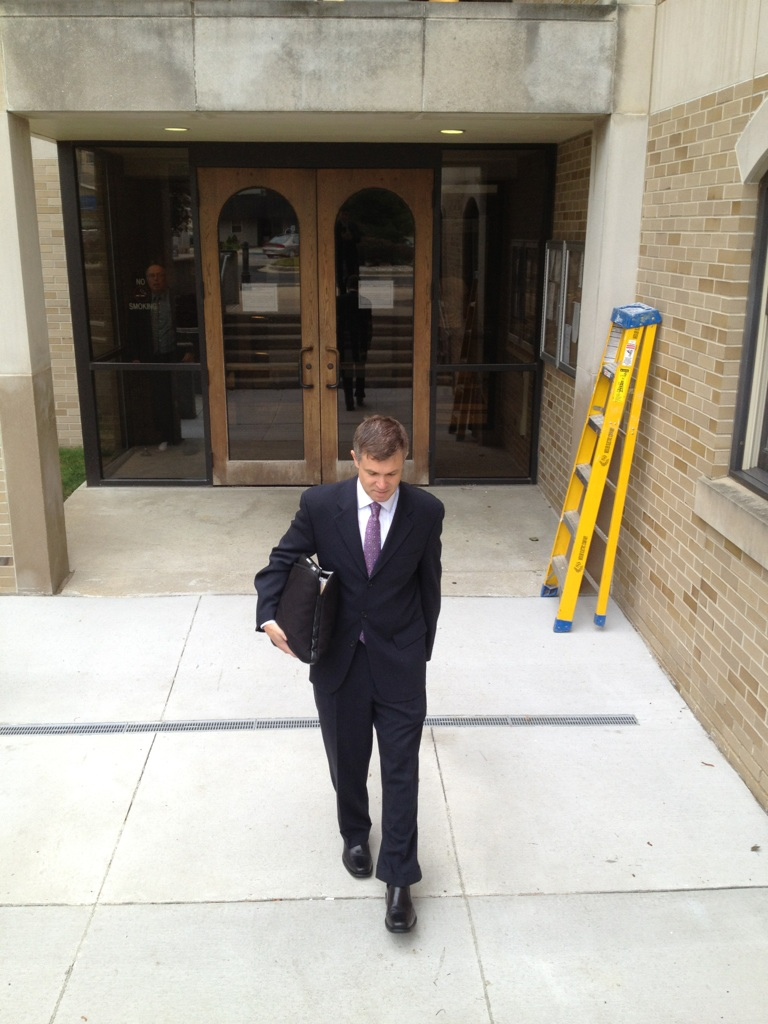 MJN Leaving Court after Jury Selection 07 19 2012